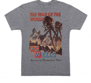 Image of The War Of The Worlds : Unisex X Large T-shirt
