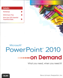 Image of Microsoft Powerpoint 2010 On Demand