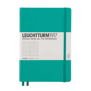 Image of Journal Leuchtturm 1917 Medium Lined Emerald