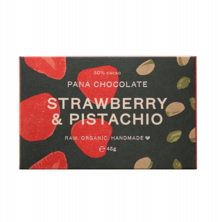 Image of Strawberry And Pistachio : Pana Chocolate Bar
