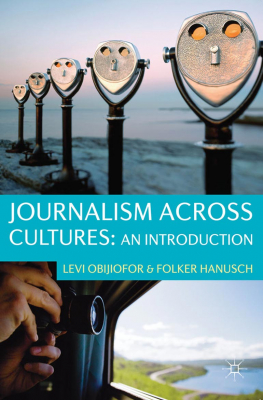 Image of Journalism Across Cultures : An Introduction