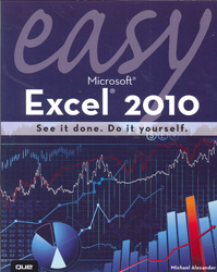 Image of Easy Microsoft Excel 2010