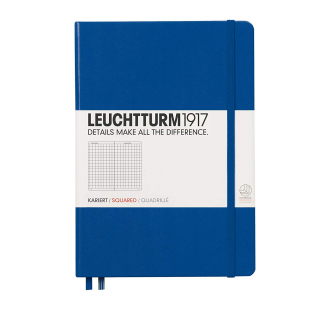 Journal Leuchtturm 1917 Medium Squared Royal Blue