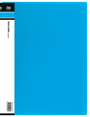 Image of Display Book 20p Fm Vivid Ice Blue