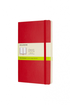 Image of Journal Moleskine Classic Sc Large Plain Scarlet Red