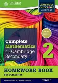 Image of Complete Mathematics For Cambridge Secondary 1 Homework Book2 Pack Of 15 For Cambridge Checkpoint And Beyond