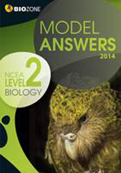 Image of Biology : Ncea Level 2 : Model Answers : 2014