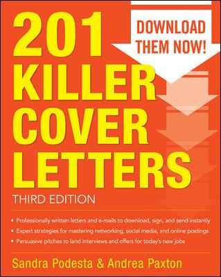 Image of 201 Killer Cover Letters