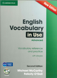 Image of English Vocabulary In Use : Advanced : With Answers & Cd-rom