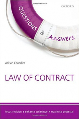 Questions And Answers Law Of Contract
