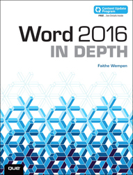 Image of Word 2016 In Depth