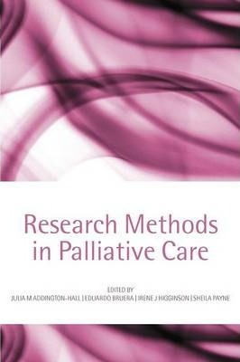 Image of Research Methods In Palliative Care