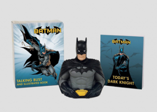 Image of Batman : Talking Bust And Illustated Book