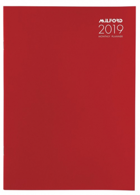 diary 2019 milford a4 monthly planner ubiq bookshop the best