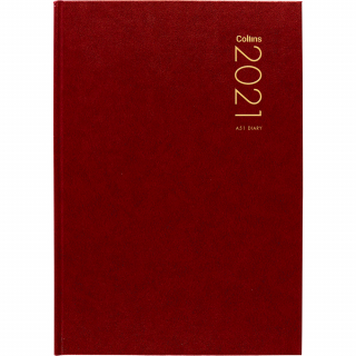 Image of Diary 2021 Collins A51 Red