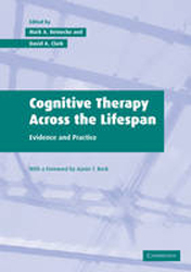 Image of Cognitive Therapy Across The Lifespan Theory Research & Practice