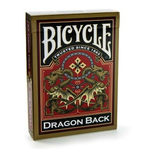 Image of Playing Cards : Bicycle Gold Dragon Pack