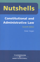 Constitutional & Administrative Law Nutshells