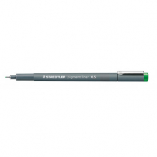 Image of Pen Staedtler Pigment Liner 0.5mm Green