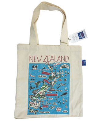 Image of Large Tote Bag : New Zealand