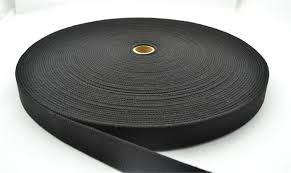 Image of Elastic Knitted Sft Black 132m Roll