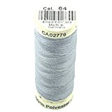 Image of Gutermann Thread Light Grey Blue 100m