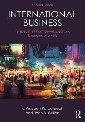 International Business : Perspectives From Developed And Emerging Markets