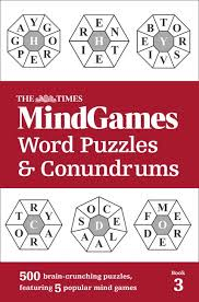 Image of The Times Mind Games Word Puzzles And Conundrums : Book 3