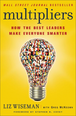 Image of Multipliers How The Best Leaders Make Everyone Smarter