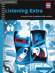 Image of Listening Extra : A Resource Book Of Multi-level Skills Activities : Book And Audio Cd Pack