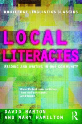 Image of Local Literacies : Reading And Writing In One Community