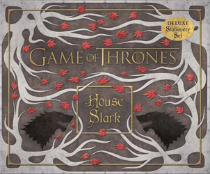 Image of Game Of Thrones : House Stark Deluxe Stationery Set