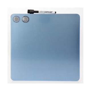 Image of Whiteboard Quartet Magnetic Cube 29 X 29cm Blue