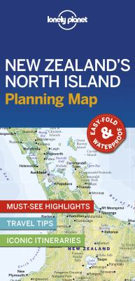 Image of Lonely Planet New Zealand's North Island Planning Map