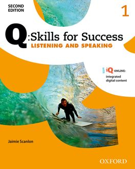 Image of Q : Skills For Success 1 : Listening And Speaking Student's Book + Iq Online