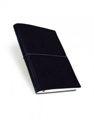 Image of Notebook Ciak Blank 9cm X 13cm Black