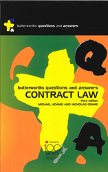Contract Law : Butterworths Questions And Answers