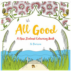 All Good : Slow Down With New Zealand Colouring