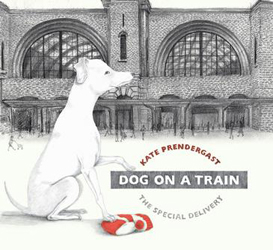 Image of Dog On A Train