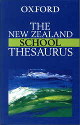 Image of New Zealand School Thesaurus
