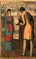 Image of Complete Etiquette For Ladies : A Complete Guide To Visitingentertaining And Travelling With Hints On Courtship Marr
