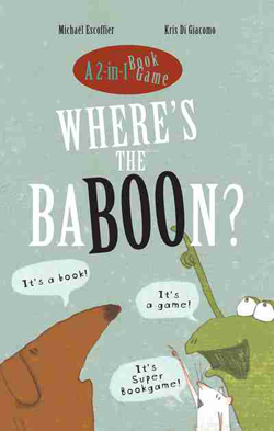 Image of Where's The Baboon? : A 2-in-1 Book Game