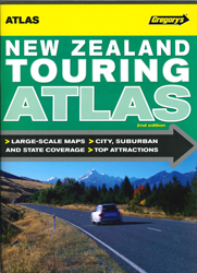 Image of Gregory's New Zealand Touring Atlas