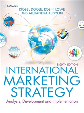 Image of International Marketing Strategy : Analysis Development And Implementation