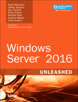 Image of Windows Server 2016 Unleashed Includes Content Update Program