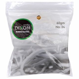 Image of Rubber Bands Dixon No 34 60g