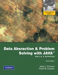 Image of Data Abstraction & Problem Solving With Java : Walls And Mirrors : Global Edition