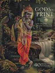 Image of Gods In Print : The Krishna Poster Collection Masterpieces Of India's Mythological Art