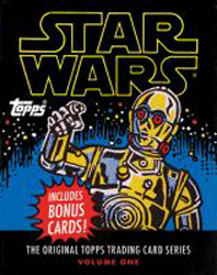 Image of Star Wars : The Original Topps Trading Card Series : Volume One