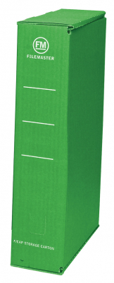 Storage Box Fm Foolscap Green